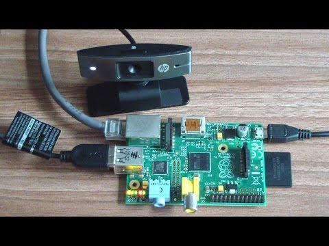 Webcam server con Raspberry Pi