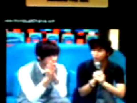 Young Saeng and Kyu Jong Manila/ radio 04.02.2011