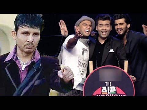 Kamaal R Khan Strikes On Ranveer Singh & Karan Johar's AIB Knock Out