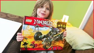 Ninjago Rock Roader Lego Timelapse and Battle!