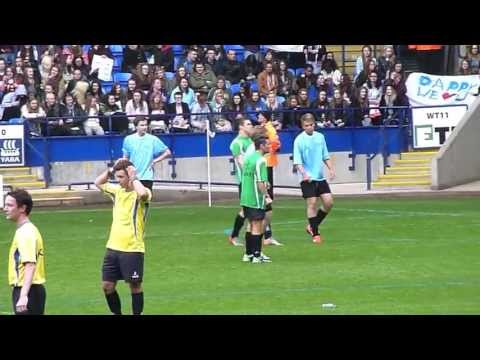 Joe Mcelderry - Soccer Six 2013 - Reebok Stadium - Bolton