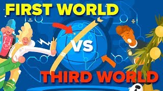 Third World vs First World Countries - What