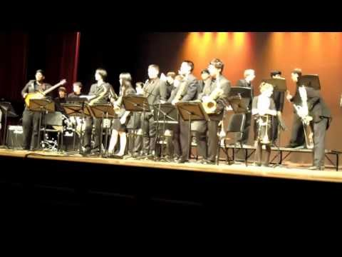 "Montgomery HS Jazz Festival 4/12/13: Montgomery High School Jazz Band (""Ya Gotta Try"")"