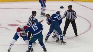 Martin levels Petry and 2 fights break out