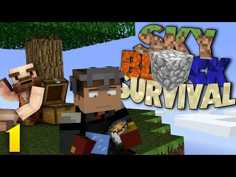 Minecraft Skyblock Server: YOU CAN'T SAY THAT ON VIDEO! w/ Sean (1)