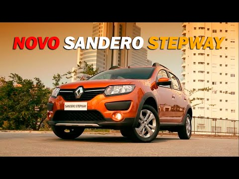 Novo Sandero Stepway 2015 - Detalhes   CanalAutomotivos