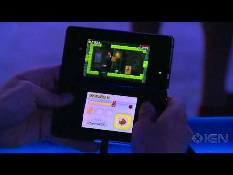 New Super Mario Bros. 2 Gameplay - Winning (Off-Screen) - E3 2012