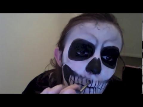 Tutorial - Maquiagem de Caveira
