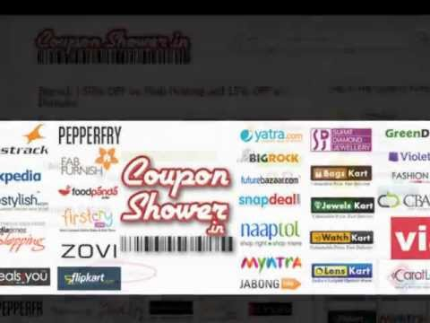 Discount Coupons | Coupons Codes | Top Deals for All Indian Online Stores