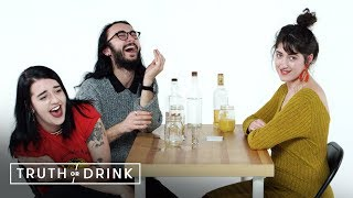 Threesome (Olivia, Thomas, & Taylor) | Truth or Drink | Cut