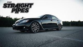 Lexus ISF Straight Pipe Muffler Delete - Pure Exhaust Sound