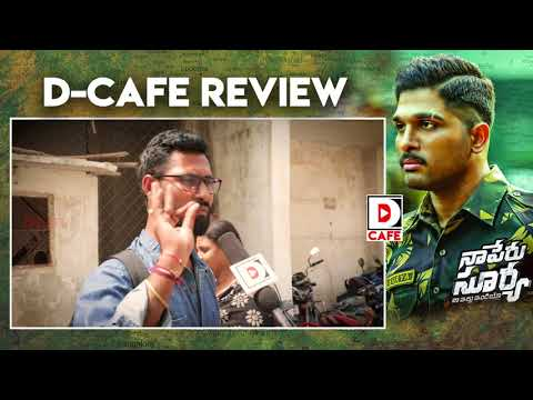 Naa Peru Surya Naa Illu India Public Talk and Movie Review | D Cafe