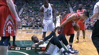 Harden Scores 25 As Rockets Rout Jazz 1/28/13
