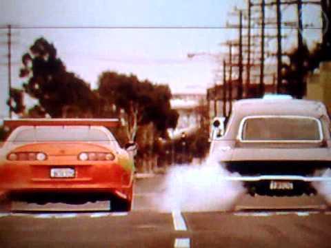 Brian O'conner vs Dominic Toretto - THE BEST QUARTER MILE RACE IN THE WORLD