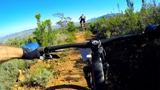 SHREDDING SOUTH AFRICAN WINE COUNTRY | Mountain Biking the Helderberg Trails