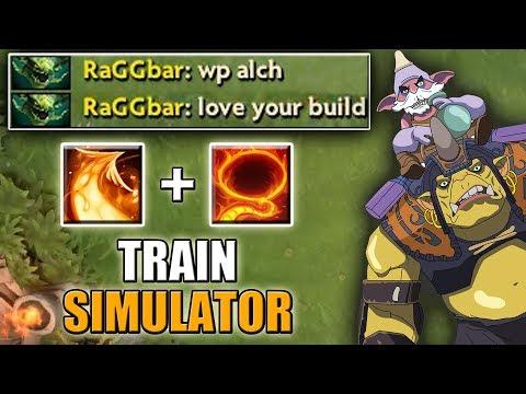 Flaming Lasso + Phoenix Icarus Dive [Chooo-Chooo Train Simulator] Dota 2 Ability Draft
