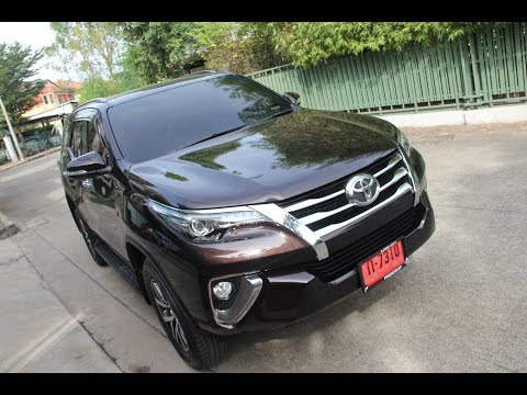 2016 Toyota Fortuner 2.4V รีวิว By KS Car Reviews