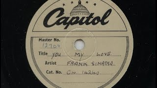 Watch Frank Sinatra You My Love video