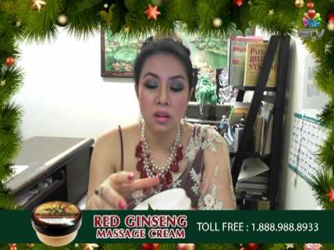 RED GINSENG MASSAGE CREAM [By Gamhom,GTV]