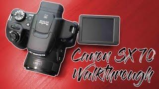 Canon SX70 Walkthrough