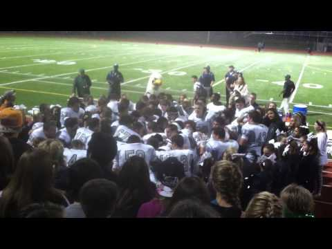 Pine Creek High School win over Vista Ridge Celebration 9/26/14