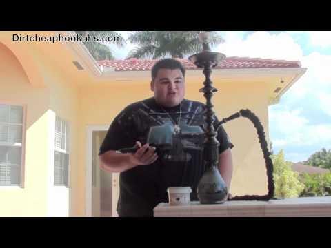 2011 Khalil Mamoon Magneto Hookah Review (Black Silver)