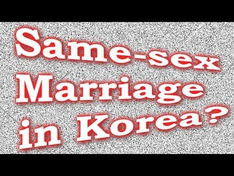 Same-sex Marriage In Korea? video