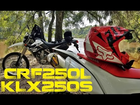 CRF250L and KLX250S Dual Sport Ride