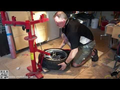 Motorcycle Tire Change & Balance - DIY