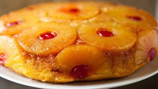 "How to Make  ""Pineapple Upside down Cake"" with my MOM!!!"