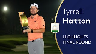 Tyrrell Hatton Wins $2m After Playoff Win Under Floodlights! | Turkish Airlines Open