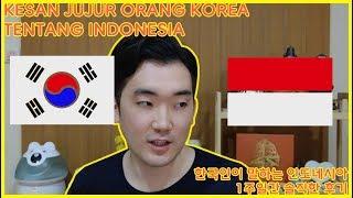 Belajar Bahasa Korea - Kesan Jujur Orang Korea tentang Indonesia (2018)