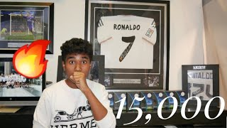 REAL MADRID CAFE DUBAI| Cristiano Ronaldo signed Jersey for 15,000$|