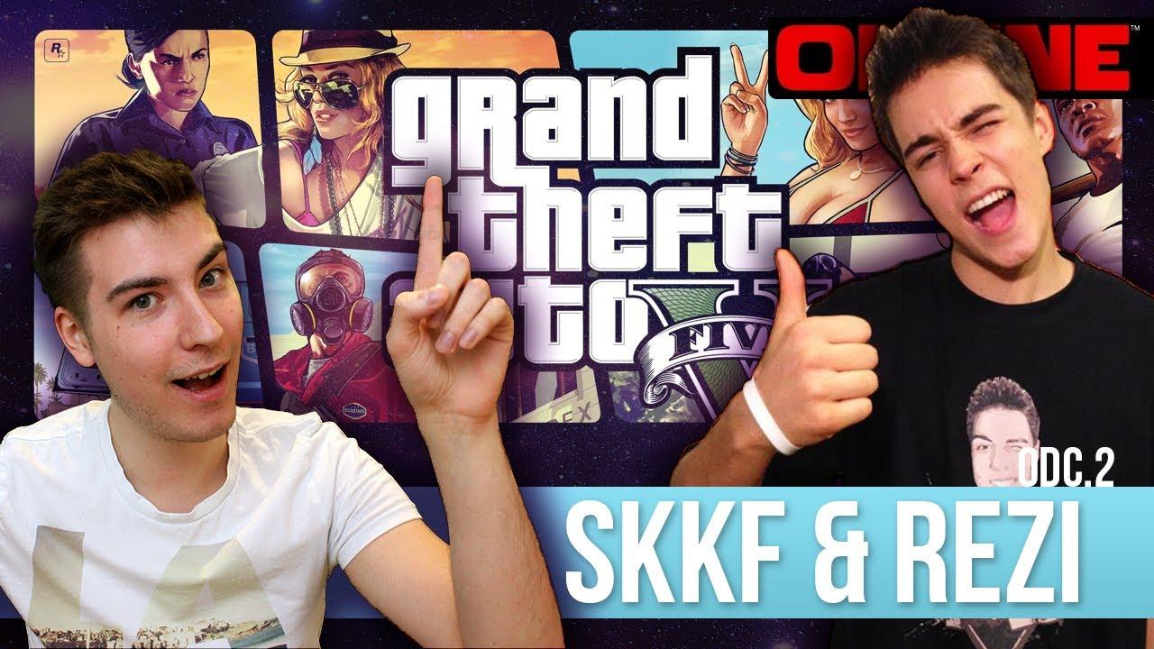 GTA V Online [#2]: SKKF & ReZi