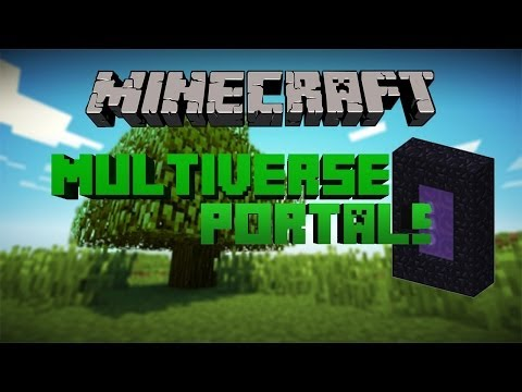 Multiverse-Portals Bukkit Plugin How to Make Portals (1.7.10)