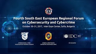 SEE Regional Forum on Cybersecurity and Cybercrime, October 30 – 31, 2017