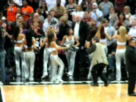 San Antonio Spurs Cheerleaders Video