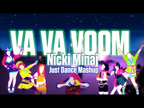 Va Va Voom - Nicki Minaj [Just Dance Fanmade Mashup]