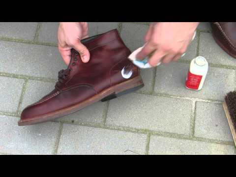 Alden Indy Boots Shoe - Care with Venetian Cream