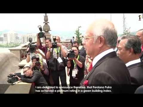 Najib Razak : Perdana Putra High Performance Green Building 2014