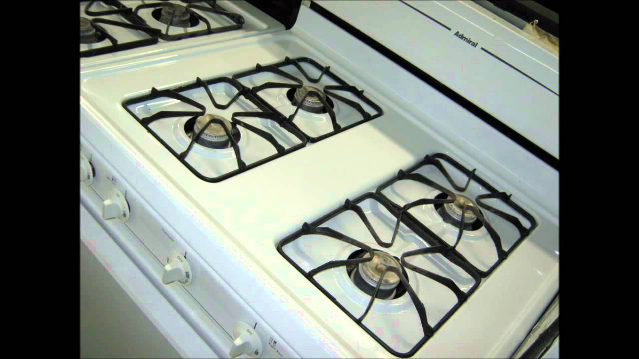 Admiral Gas Stove Replace Your Old Cranky Stove With