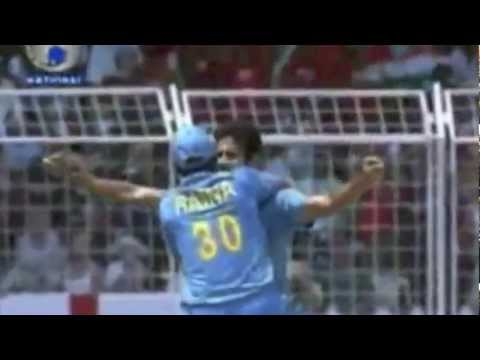 Irfan Pathan - Swing Bowling During The Initial Stages Of His Career video