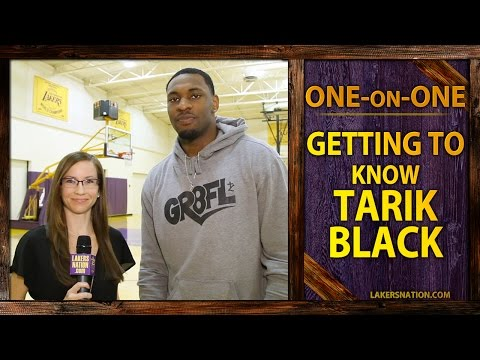 Lakers Nation Exclusive: Tarik Black Interview, Aaron Rodgers Tried To Recruit Him?