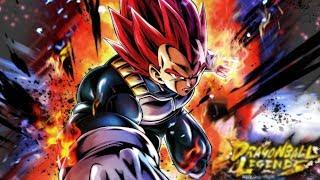 SUPER SAIYAN GOD VEGETA ARRIVES! | Dragon Ball Legends