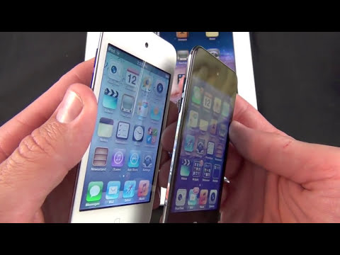 Apple iPod Touch 4G White: Unboxing & Setup