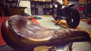 Motorcycle Seat (Harley Davidson) Part 6