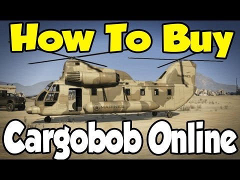 """GTA Online - How To Buy """"Cargobob"""" Online (After Patch 1.11) [GTA V Multiplayer]"""