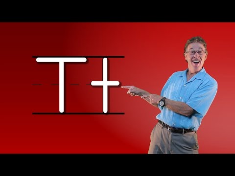 Learn The Letter T | Let's Learn About The Alphabet | Phonics Song for Kids | Jack Hartmann