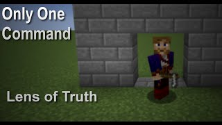 Lens of Truth in Only One Command [Zelda Mapmaking 1.9]