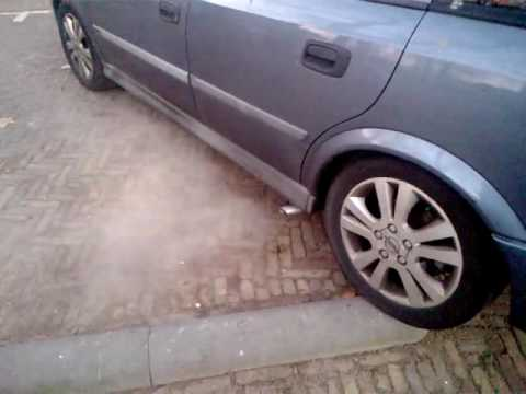 opel astra G sidepipe